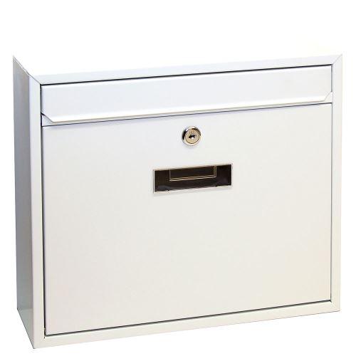 Poštová schránka do zostáv veľká - BIELA
