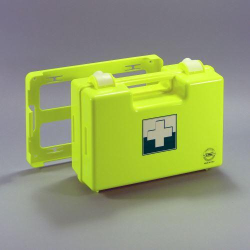Kufrík prvej pomoci FLUO 2 s náplňou KANCELÁRIA