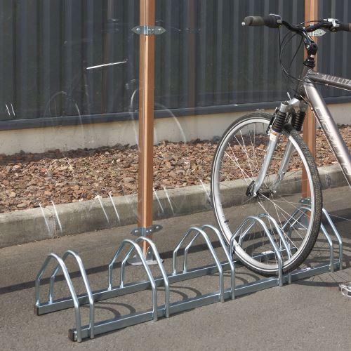 Stojan pre 5 bicyklov