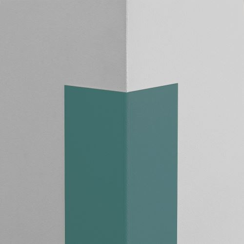 Plastová ochrana rohu LUX - MODROŠEDÁ - samolepiaci - dĺžka 1,5 m