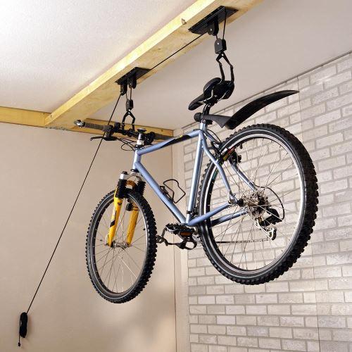 Držák na kolo – závěsný pod strop