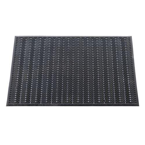 Vstupná gumová rohož WAVE s otvormi 150 x 90 cm