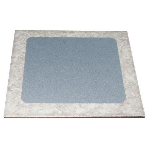 Protišmyková samolepiaca dlaždica 24 x 24 cm - šedá
