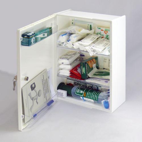 Plastová lekárnička LP s náplňou ELEKTRO