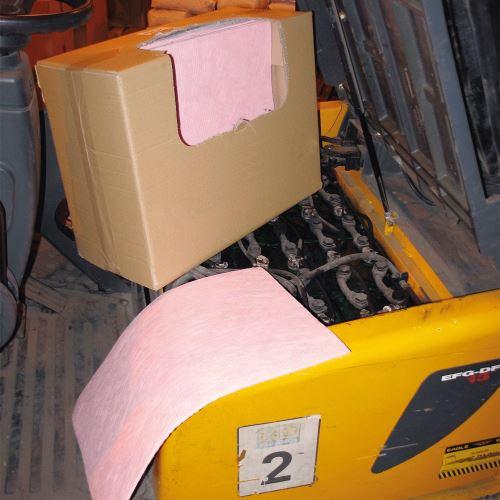 Chemické sorpčné rohože 40 x 50 cm v kartóne - BALENIE 50 ks