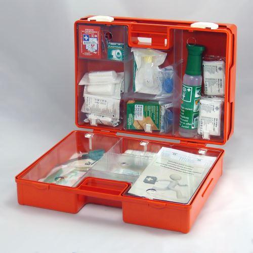Kufor prvej pomoci veľký KP 5 s náplňou ELEKTRO